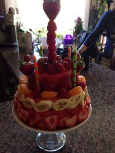 Low carb birthday cake