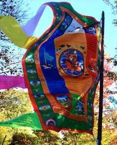 prayer flags Om Mani Padme Hung, Seven Years In Tibet, Healing Images, Flag Shop, Bamboo Poles, Tibetan Buddhism, Buddhist Art, Prayer Flags, Paintings