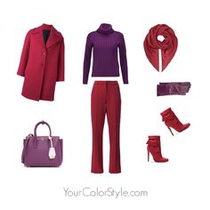 How To Wear Bright Plum
