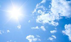Cielo despejado durante el día y la noche; pocas probabilidades de lluvias