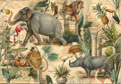 ブダペスト市営動物園とその動物たちをモチーフにしたデザインです。ボモアートのラッピングペーパーのデザインはすべて、工房専属のグラフィックデザイナーによって手書...|ハンドメイド、手作り、手仕事品の通販・販売・購入ならCreema。