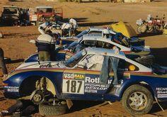 Rothmans Porsche 959 Team Paris Dakar 1986