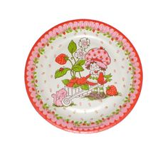 Strawberry Shortcake Vintage Retro by littledottydesigns on Etsy, £4.00
