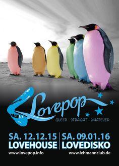 Party >> LOVEPOP vs. LOVEHOUSE, Stuttgart am Samstag, 12.12.2015 22:00