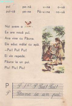 Abecedar 1959 – Un zâmbet de copil… Vintage School, French Language, Kids Education, Book Illustration, Vintage World Maps, Nostalgia, Classroom, Activities, Learning