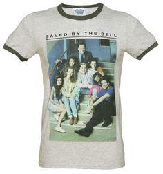 TruffleShuffle Mens Saved By The Bell Ringer T-Shirt Zack was the school kid we all wanted to be in nineties and this awesome tee will bring back all those comical, awkward teen moments we enjoyed watching on the cult US TV series, Saved By The Bell! http://www.MightGet.com/february-2017-3/truffleshuffle-mens-saved-by-the-bell-ringer-t-shirt.asp