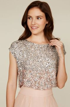 Iridesa Sparkly Top