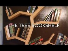 DIY: How To Make A Tree Bookshelf - YouTube