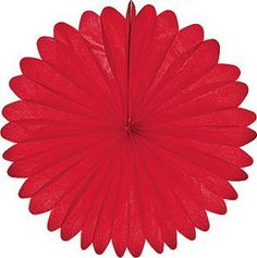"""Cultural Intrigue // Red Rice Paper Flower 