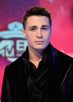 Colton Haynes - Arrivals at the MTV EMA's