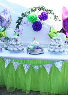 Tinkerbell Birthday Party Ideas | Photo 1 of 10 | Catch My Party