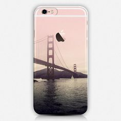 This fun phone case features the Golden Gate Bridge on a transparent background.  AVAILABLE DEVICE SIZES: iPhone 6S Plus iPhone 6S iPhone 6 Plus