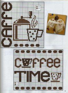 Health Benefits Of Coffee Cross Stitch Boards, Cross Stitch Heart, Cross Stitch Alphabet, Cross Stitching, Cross Stitch Embroidery, Cross Stitch Designs, Cross Stitch Patterns, Coffee Chart, Cross Stitch Kitchen