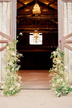 """From the editorial """"Major Golden Hour Lover? This California Wedding Inspiration Is Right up Your Alley."""" To see all the details, including one of the most stunning barn venues ever - head on over to the full gallery on stylemepretty.com! 