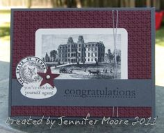 Josh's Graduation Card by JAMSquared80 - Cards and Paper Crafts at Splitcoaststampers