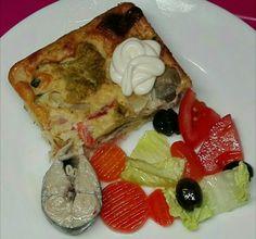 Pastel de Verduras con Jamón y Queso.      ;  )