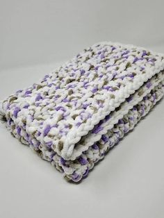 Bernat Baby Blanket, Blanket Yarn, Knitted Blankets, Baby Blanket Crochet, Baby Blankets, Crochet Baby, Chunky Babies, Car Seat Blanket, Purple Gray