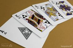 Zelda playing cards by Nelde