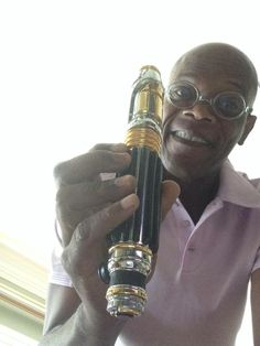 Mace Windu and his Lightsaber