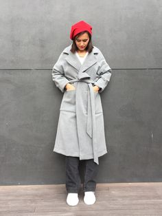 Mango 700 TL'lik kaban dikiyorum – Esma'nın Dikiş Atölyesi ropa paso a paso Coat Patterns, Dress Sewing Patterns, Diy Clothes Design, Diy Mode, Knitting Magazine, Baby Vest, How To Start Knitting, Model Look, Dress Tutorials