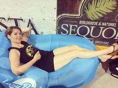 The best post-bout seating in the history of the universe.  #lazybedz #muddyriverjamboree #rollerderby