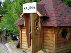 Ideal Ein Saunahaus im Garten die kleinsten Saunen More Garten and Saunas ideas