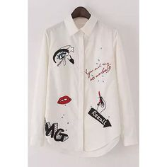 New Embroidery Shirt Long Sleeve 68 Ideas Shirt Embroidery, Embroidery Fashion, Embroidery Designs, Hijab Fashion Summer, Casual Outfits, Fashion Outfits, Painted Clothes, Stylish Shirts, Long Blouse