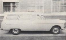 OG | Ford (Australia) Zephyr Mk2 Panel Van | Full-size prototype considered by Ford Australia in 1957, but was stopped by Ford of England.