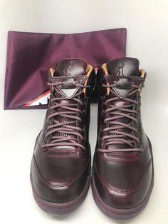 b1e28023e969ae Nike Air Jordan 5 Retro Premium Bordeaux Sail 881432 612 Size 11.5 Shoes