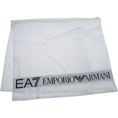 EA7 EMPORIO ARMANI TOWEL BEACH BATH TELO MARE BIANCO WHITE #EmporioArmani #Traditional