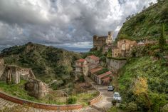 Sicily - Savoca - The Godfather Village by JimP (in Sarnia)