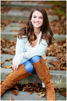 Hannah » Bekah Imagery senior pose