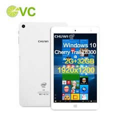 US $96.99 -- Chuwi Hi8 Pro Windows10 Tablet PC Intel Cherry Trail Z8300 Quad Core 8 Inch IPS 2GB DDR3 32GB eMMC HDMI