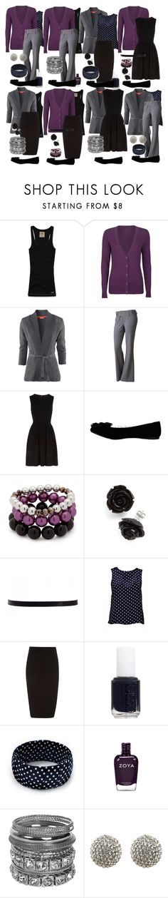 Teacher Outfits on a Teacher's Budget 23: Mix and Match by allij28 on Polyvore featuring Dorothy Perkins, Full Tilt, H&M, AX Paris, Hollister Co., Wet Seal, Avalaya, Betty Jackson. Black, Forever New and ASOS