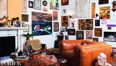 Step Inside Erin Wasson's Bohemian Venice Beach Home via @MyDomaine