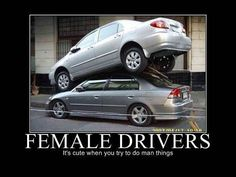 Female Drivers - Its Cute
