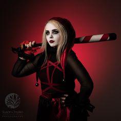 """Dark Knight Inspired Harley Quinn"" - Susan Onysko Photography"