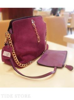 US$29.99 Classic Chain Euramerican Genuine Leather One-shoulder New Arrival Crossbody Bag. #Bags #New #Arrival #Genuine