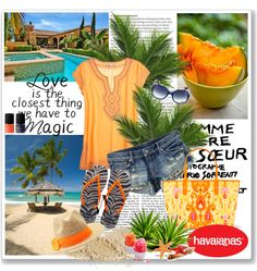 """Create #instantjoy with Havaianas"" by cerry71 ❤ liked on Polyvore"