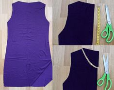 Madam B.C.: Tee-se-itse: Ompele mekko osa 1. Sewing Hacks, Sewing Tips, Athletic Tank Tops, Tees, Jersey, Women, Fashion, Moda, T Shirts