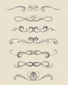 scroll designs  - I think it would be cool to do the color idea that you were talking about but on the walls!