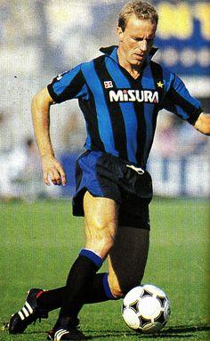 W.German international Karl-Heinz Rummenigge with Inter Milan.
