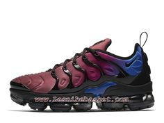 1190465e80c7b Running Nike Air VaporMax Plus Black Team Red Violet AO4550 001 Chaussures  Nike 2018 Pour Homme
