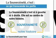 La souveraineté n'est ni à gauche ni à droite. Elle est au centre de notre histoire.  Pour en savoir plus. -> http://pq.org/souverainete/#gauchedroite