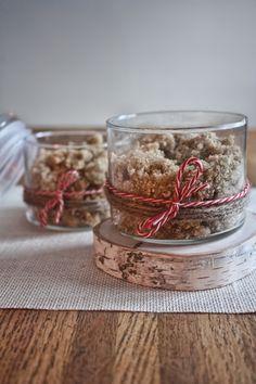 Cinnamon Vanilla Oatmeal Body Scrub from @Lindsay White
