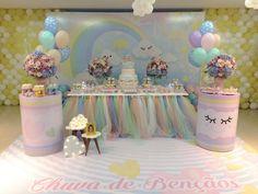 Chuva de Bençãos Que encanto! Por @lorisobral #chuvadebencaos #chuvadeamor #festachuvadebencaos #festachuvadeamor #festainfantil #festademenina #maedemenina #maededois #fiestasinfantiles #menina #1stbirthday #anniversaire