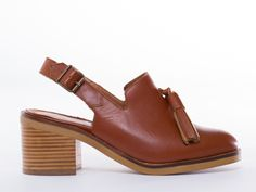 To Be Announced Aurelia in Tan Leather at Solestruck.com