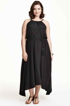 Vestidos para gorditas vestidos en negro de H&M