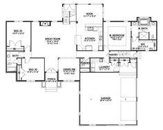 Custom Home House Plan 2,207 SF Blueprints w/Full Bsmt