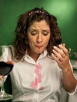 Who knew? Regular table salt will help remove red wine stains from clothing!